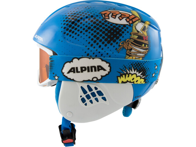 Alpina Carat Set Disney Casco Niños, Donald Duck